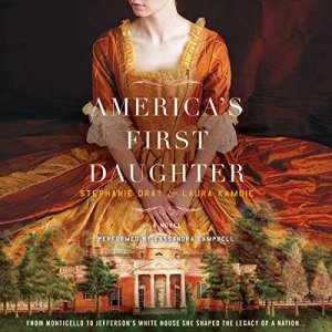 America's First Daughter audiobook cover art