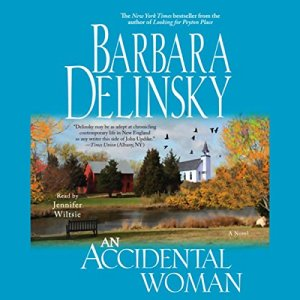 An Accidental Woman audiobook cover art