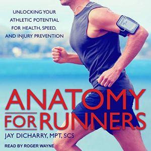 Anatomy for Runners audiobook cover art