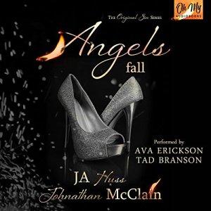 Angels Fall audiobook cover art