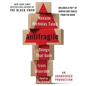 Antifragile audiobook cover art
