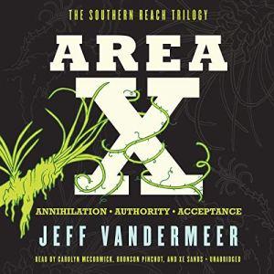 Area X audiobook cover art
