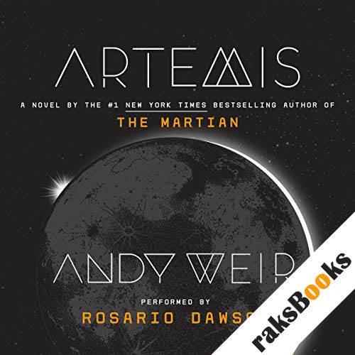Artemis audiobook cover art