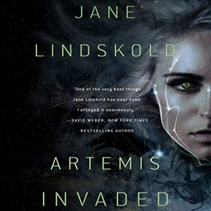 Artemis Invaded audiobook cover art