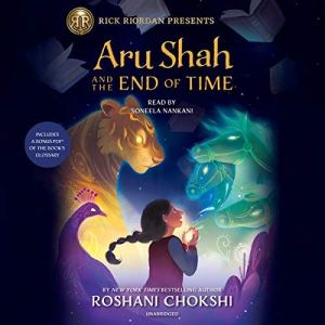 Aru Shah and the End of Time audiobook cover art