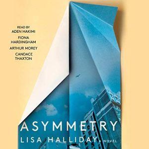 Asymmetry audiobook cover art