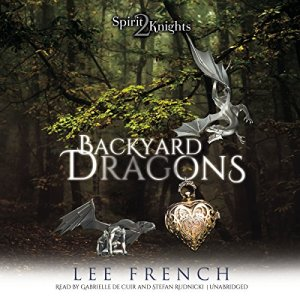 Backyard Dragons audiobook cover art
