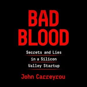 Bad Blood audiobook cover art