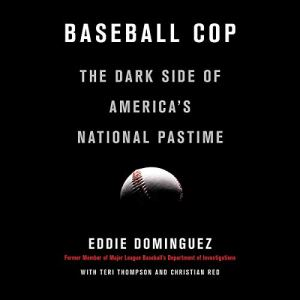Baseball Cop audiobook cover art