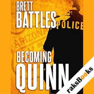 Becoming Quinn audiobook cover art