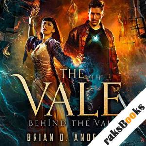 Behind the Vale audiobook cover art