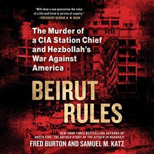 Beirut Rules audiobook cover art