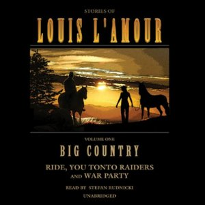 Big Country audiobook cover art