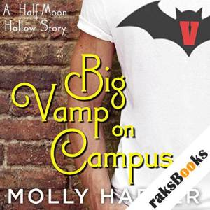 Big Vamp on Campus audiobook cover art