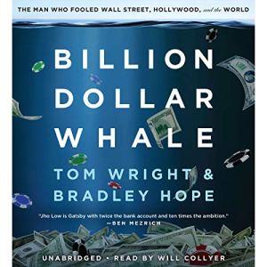Billion Dollar Whale audiobook cover art