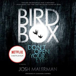 Bird Box audiobook cover art