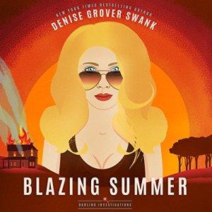 Blazing Summer audiobook cover art