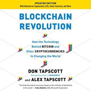 Blockchain Revolution audiobook cover art