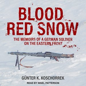 Blood Red Snow audiobook cover art