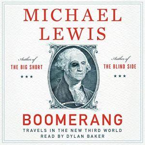 Boomerang audiobook cover art