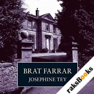 Brat Farrar audiobook cover art