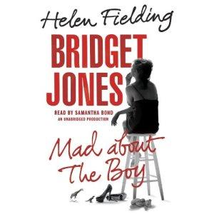 Bridget Jones: Mad About the Boy audiobook cover art