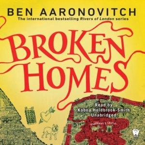 Broken Homes audiobook cover art