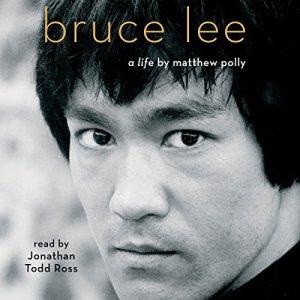 Bruce Lee audiobook cover art