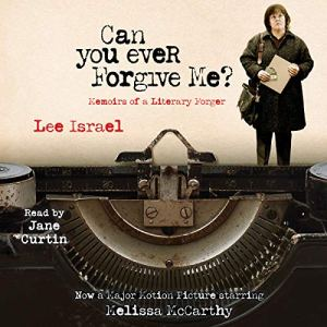 Can You Ever Forgive Me? audiobook cover art