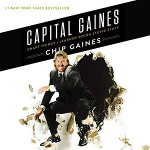Capital Gaines audiobook cover art