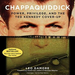 Chappaquiddick audiobook cover art