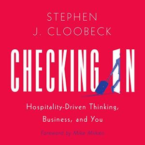 Checking In audiobook cover art