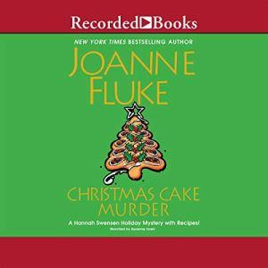 Christmas Cake Murder audiobook cover art