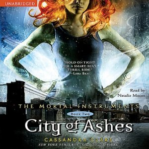 City of Ashes audiobook cover art