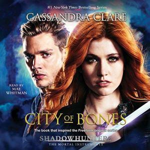 City of Bones audiobook cover art