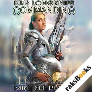 Commanding audiobook cover art