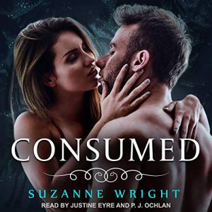 Consumed audiobook cover art