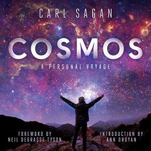 Cosmos audiobook cover art