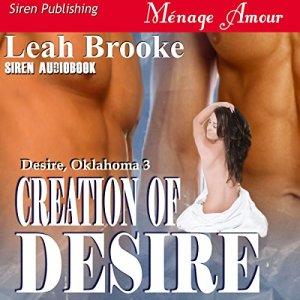 Creation of Desire audiobook cover art