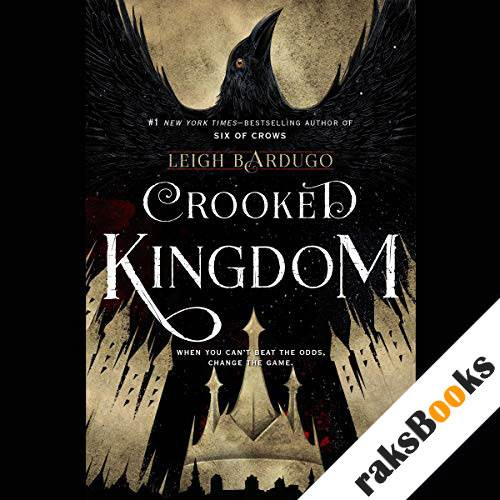 Crooked Kingdom audiobook cover art