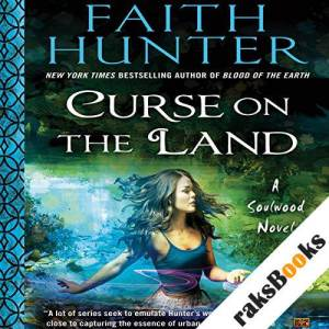 Curse on the Land audiobook cover art