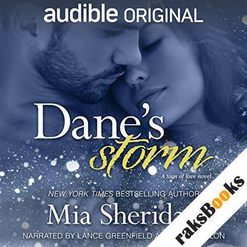 Dane's Storm audiobook cover art