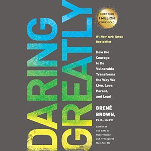 Daring Greatly audiobook cover art