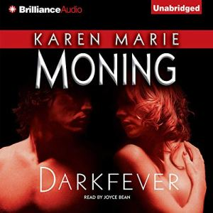 Darkfever audiobook cover art