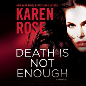 Death Is Not Enough audiobook cover art
