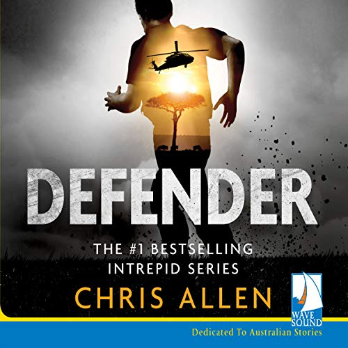 Defender audiobook cover art