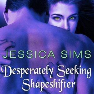 Desperately Seeking Shapeshifter audiobook cover art