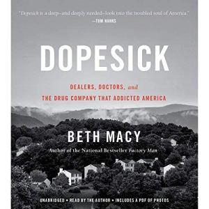 Dopesick audiobook cover art