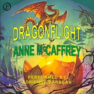 Dragonflight audiobook cover art
