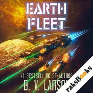 Earth Fleet audiobook cover art